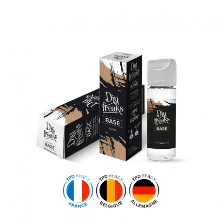 Pack DIY 50/50 200ml  0mg Nicotine - Freaks -
